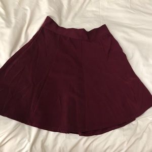 Brandy Melville red skirt
